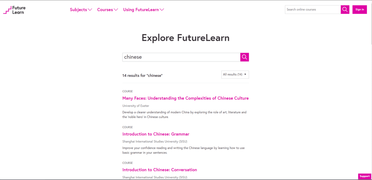Futurelearn Learn Chinese Lessons Online