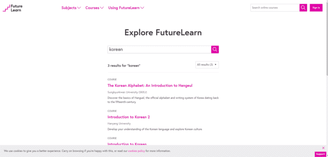 futurelearn learn korean lessons online