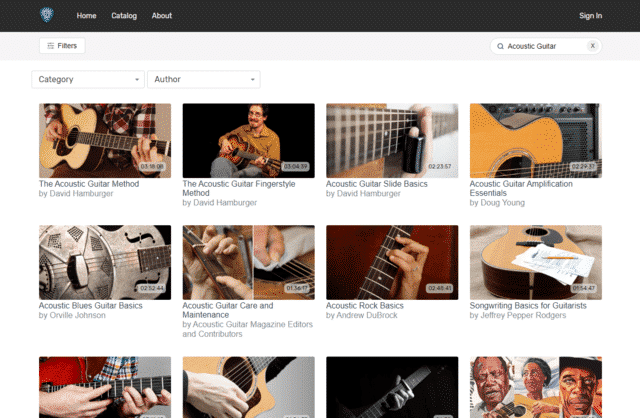 GuitarCast Learn Acoustic Guitar Lessons Online