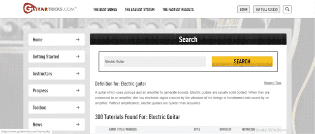 Guitartricks Learn Electric Guitar Lessons Online