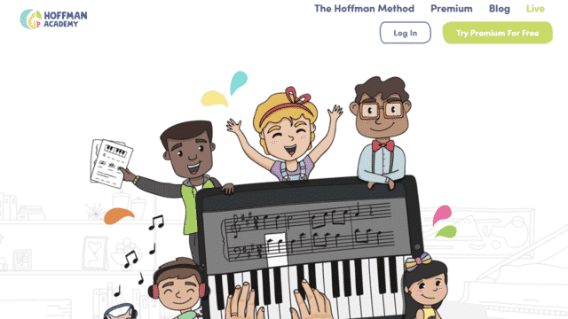 Hoffmanacademy Learn Kids Piano Lessons Online