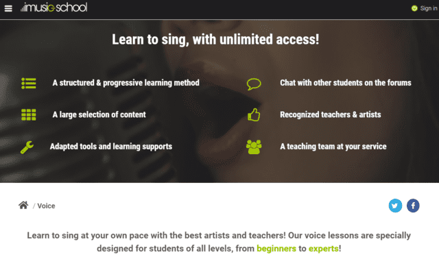 Imusicschool Learn Voice Lessons Online