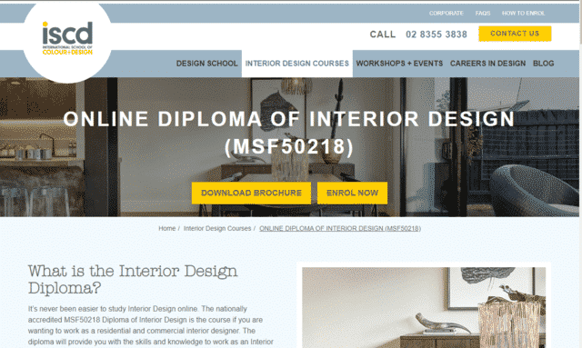 ISCD Learn Interior Design Lessons Online