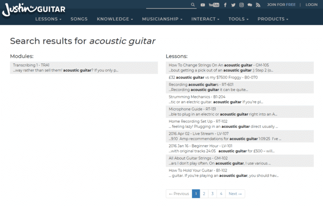 JustinGuitar Learn Acoustic Guitar Lessons Online