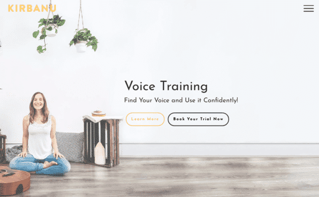 Kirbanu Learn Voice Lessons Online