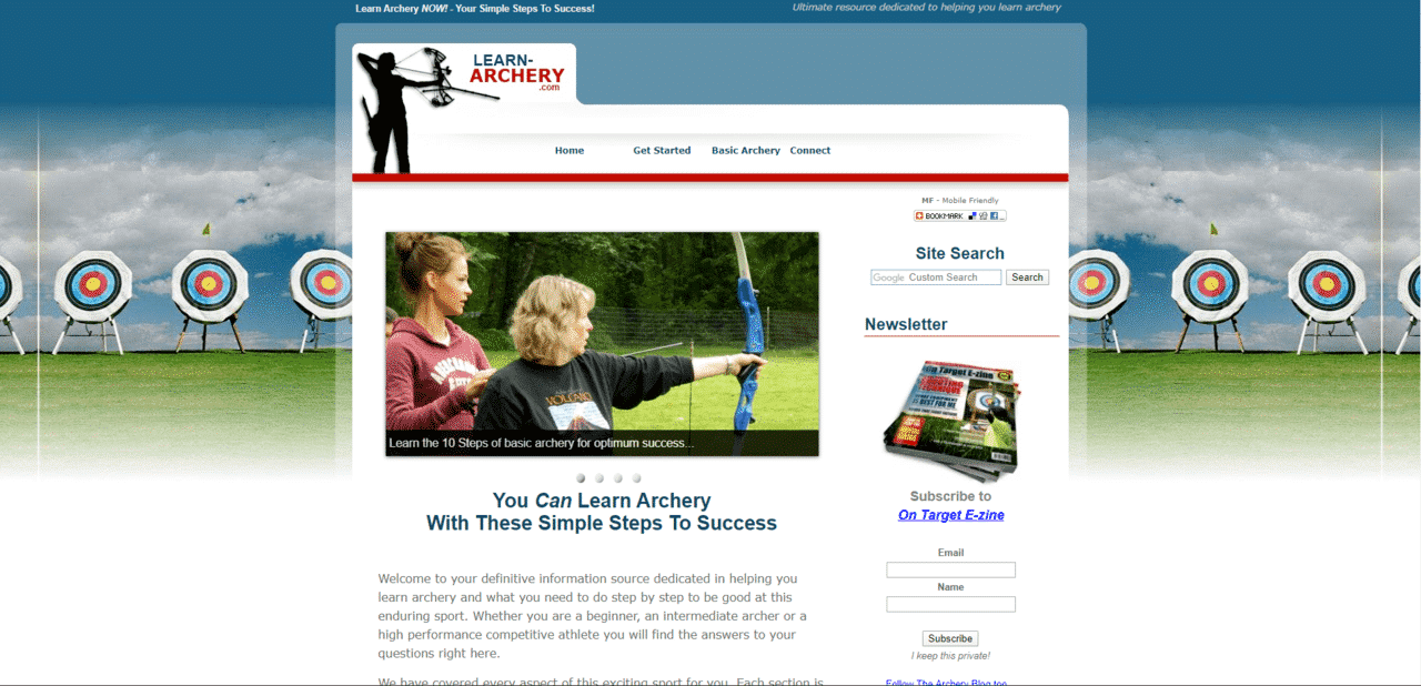 Learnarchery Learn Archey Lessons Online