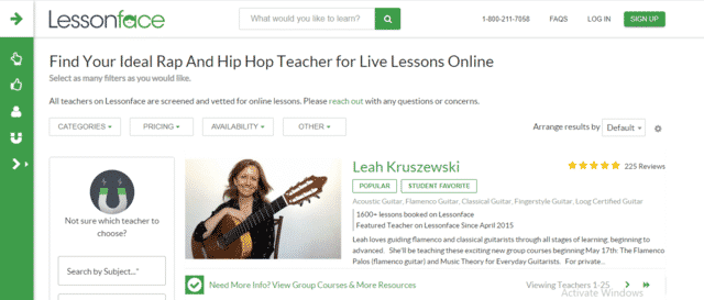 Lessonface Learn Hip Hop Lessons Online