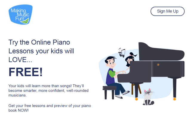 Makingmusicfun Learn Kids Piano Lessons Online