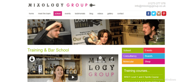 MixologyGroup Learn Mixology Lessons Online