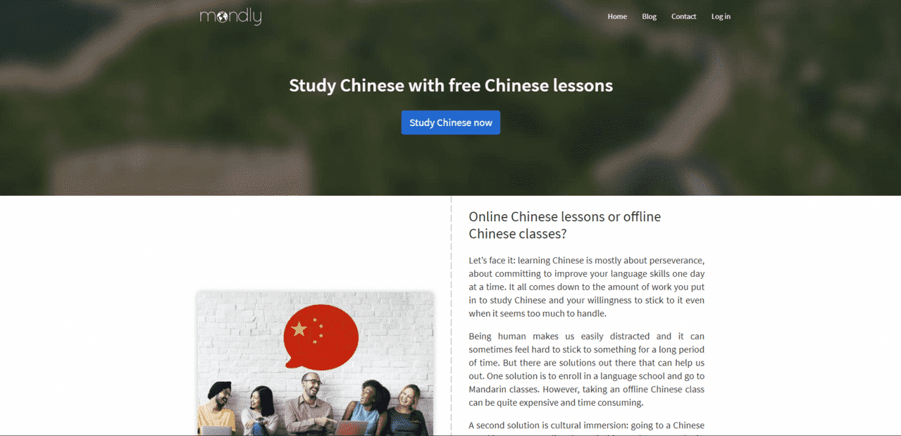 Mondly Learn Chinese Lessons Online