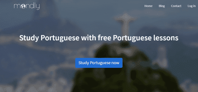 Mondly Learn Portuguese Lessons Online