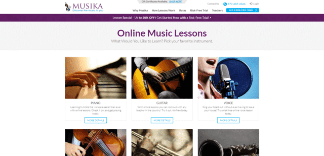 Musika Learn Music Lessons Online