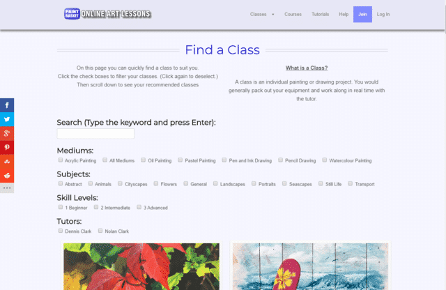 OnlineArtLessons Learn Art Lessons Online