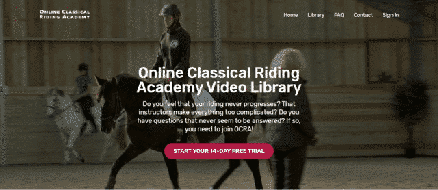 OnlineClassicalAcademy Learn Horse Riding Lessons Online