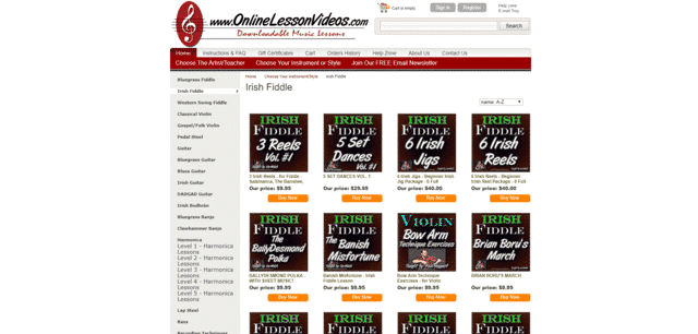 Onlinelessonvideo Learn Fiddle Lessons Online