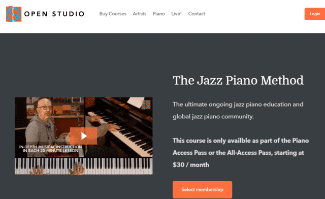 Openstudiojazz Learn Jazz Piano Lessons Online