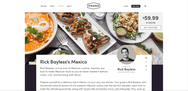 PannaCooking Learn Mexican Cooking Lessons Online