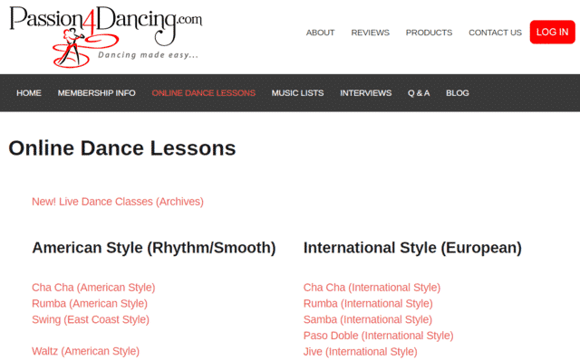 Passion4dancing Learn Dance Lessons Online