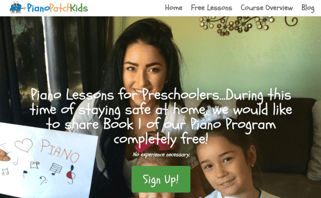 Pianopatchkids Learn Kids Piano Lessons Online