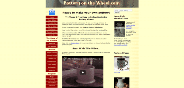 Potteryonthewheel Learn Pottery Lessons Online
