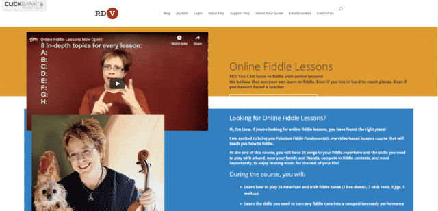 Reddesertviolin Learn Fiddle Lessons Online