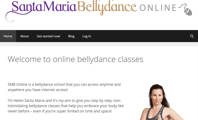 Santamariabellydanceonline Learn Belly Dance Lessons Online