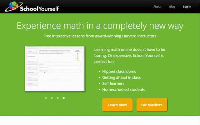 SchoolYourself Learn Maths Lessons Online