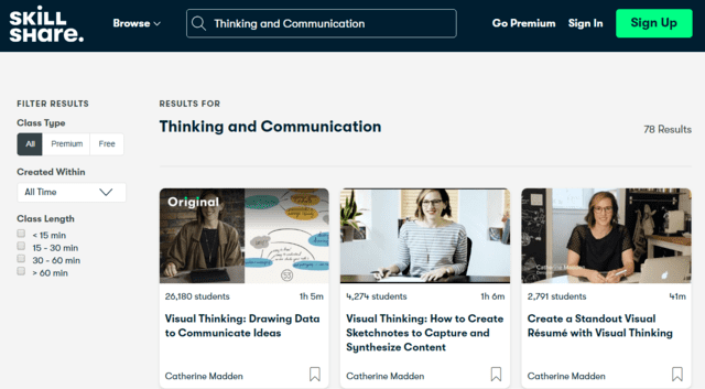 Skillshare Learn Thinking And Communication Lessons Online