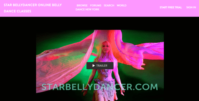 Starbellydancer Learn Belly Dance Lessons Online