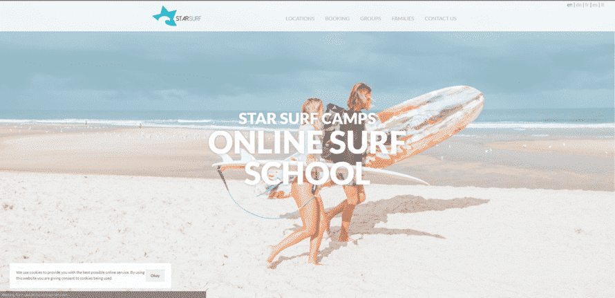 starsurfcamps learn Surfing lessons online