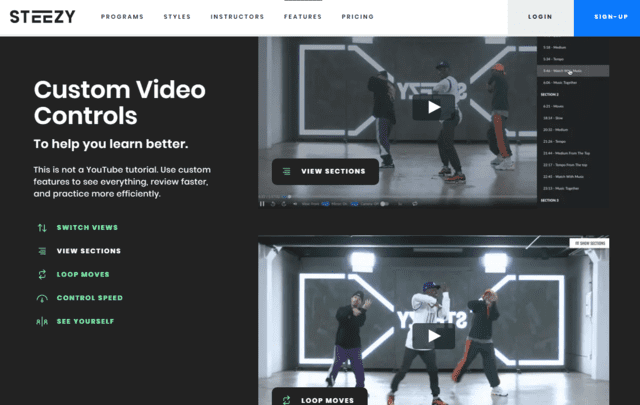 Steezy Learn Dance Lessons Online