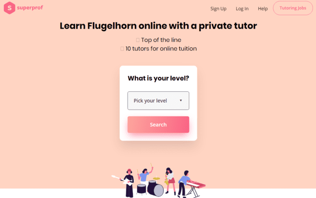 Superprof Learn Flugelhorn Lessons Online