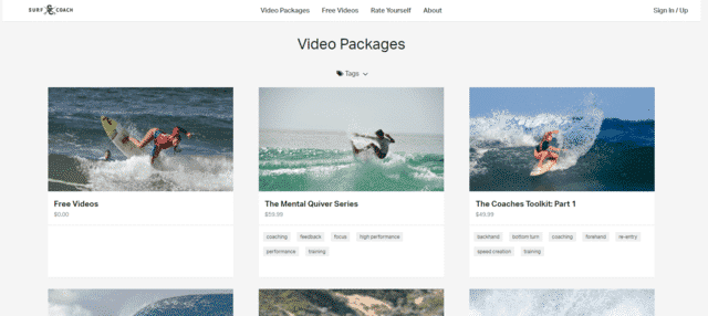 surfcoach learn Surfing lessons online