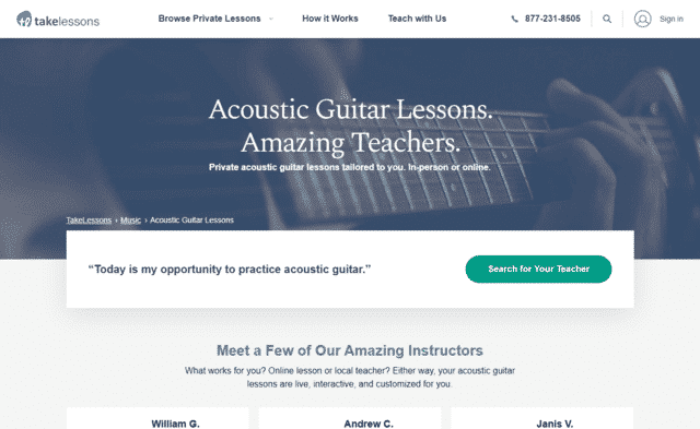 TakeLessons Learn Acoustic Guitar Lessons Online