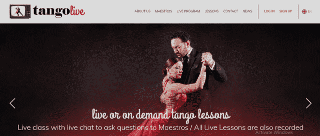 TangoLive Learn Tango Lessons Online