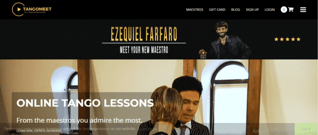 TangoMeet Learn Tango Lessons Online