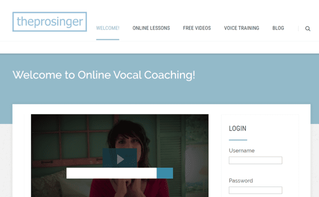 Theprosinger Learn Vocal Lessons Online