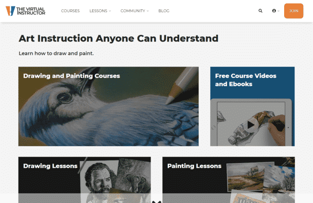 TheVirtualInstructor Learn Art Lessons Online