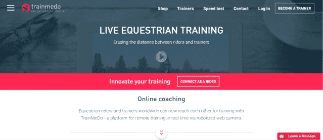 TrainMedo Learn Horse Riding Lessons Online