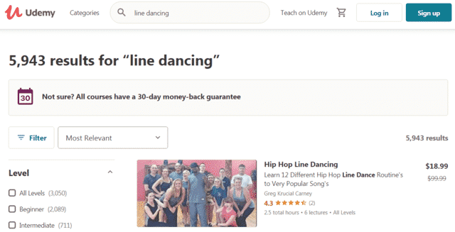 Udemy Learn Line Dance Lessons Online