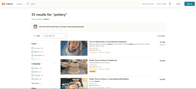 Udemy Learn Pottery Lessons Online