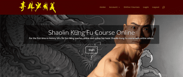 Usashaolintemple Learn Kung Fu Lessons Online