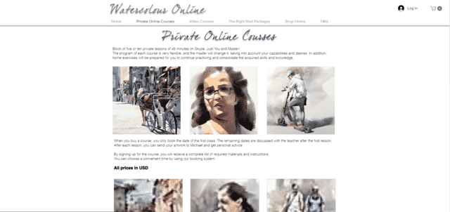 Watercoloronline Learn Watercolour Painting Lessons Online