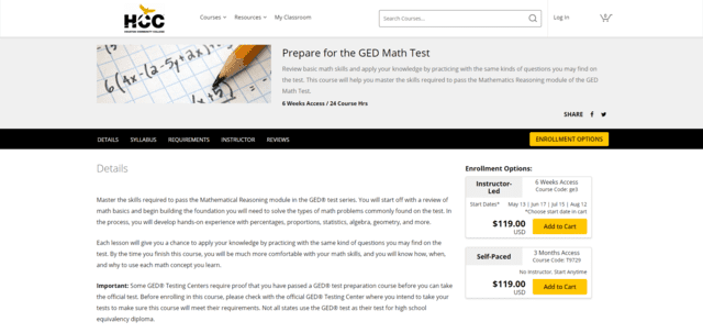 Wd2go Learn GED Math Lessons Online