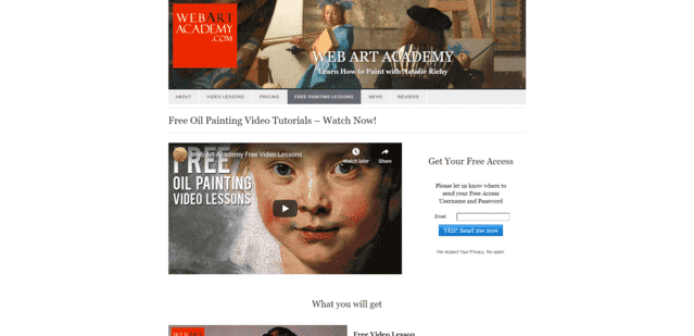 Webartacademy Learn Oil Painting Lessons Online