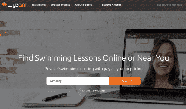 Wyzant Learn Swimming Lessons Online