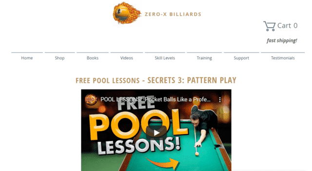 Zeroxbilliards Learn Pool Lessons Online