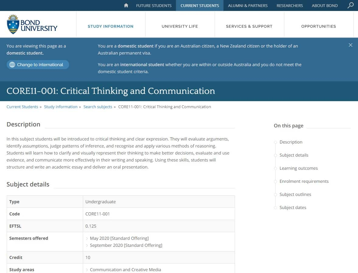 Bonduniversity Learn Thinking And Communication Lessons Online