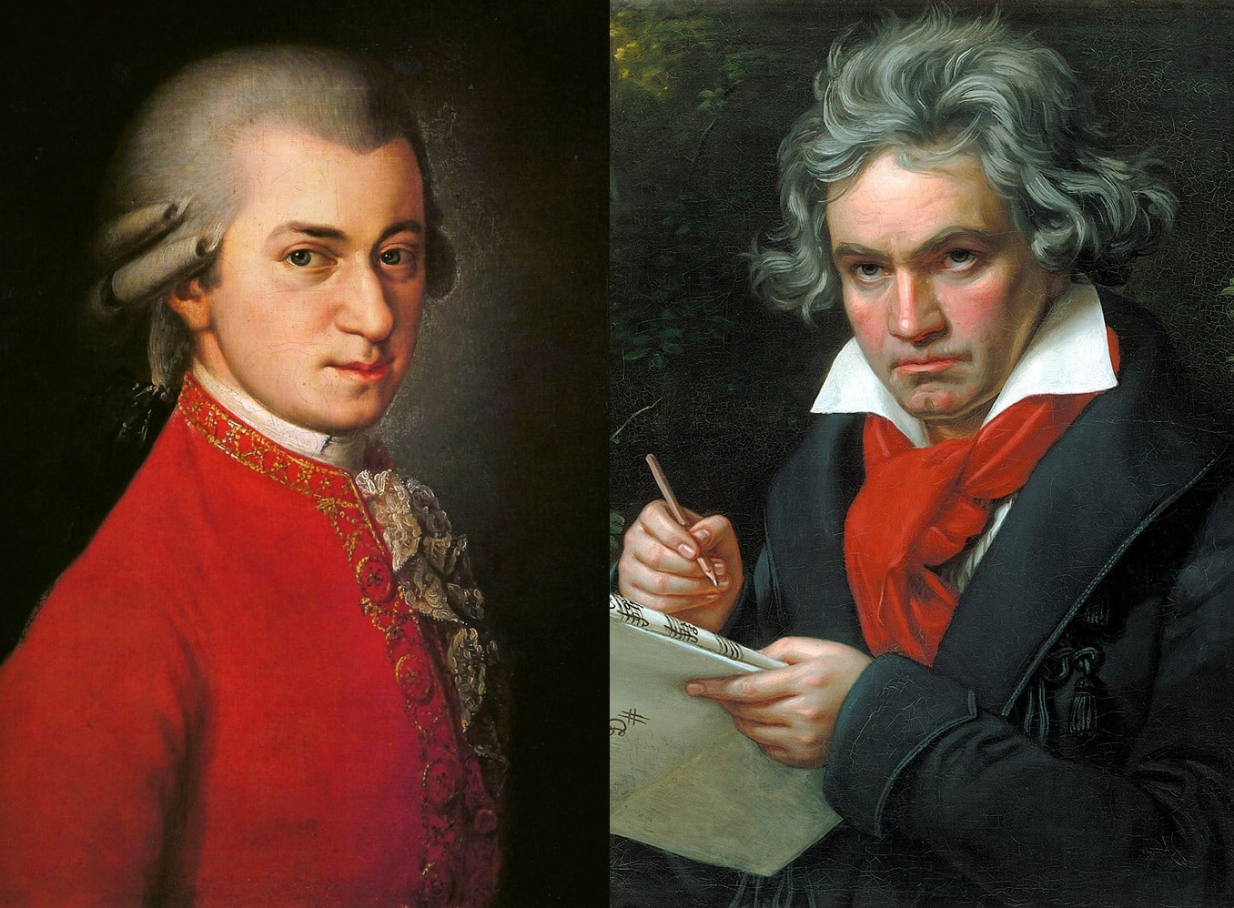 Did Mozart and Beethoven Meet