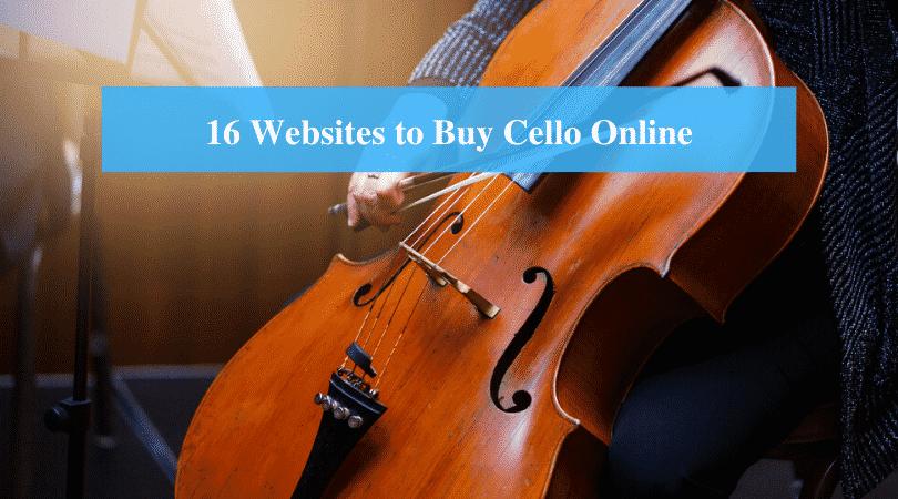 Websites to Buy Cello Online